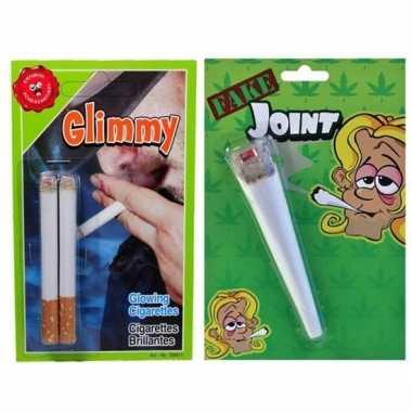 1 april roken/blowen pakket