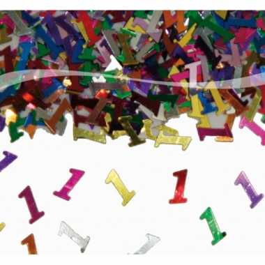 1 jaar decoratie confetti