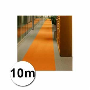 10 meter oranje lopers 1 meter breed