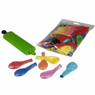 100 feest ballonnen alle kleuren