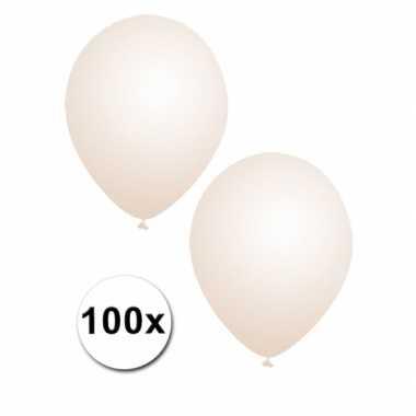 100 stuks feest ballonnen transparant