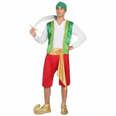 1001 nacht arabische prins amir verkleedpak voor heren