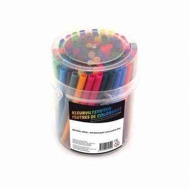 100x gekleurde stiftjes