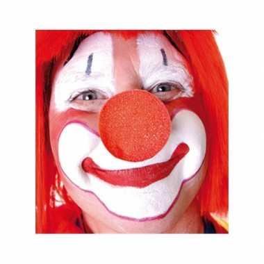 100x stuks carnaval neus/neuzen rood