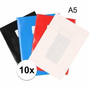 10x a5 vakjes schriften 5 mm