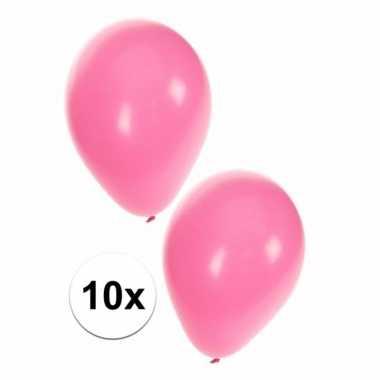 10x baby roze ballonnen