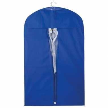 10x beschermhoes voor kleding blauw 100 x 60 cm