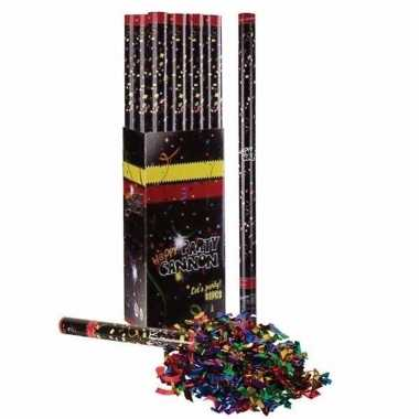10x multi color confetti shooter 80 cm