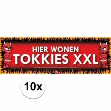10x sticky devil hier wonen tokkies xxl