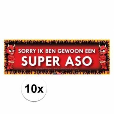 10x sticky devil sorry ik ben gewoon een super aso
