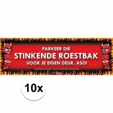 10x sticky devil stinkende roestbak