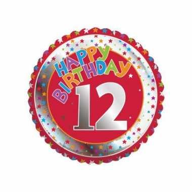 12 jaar helium ballon