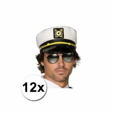 12 kapiteinspetten voor volwassenen