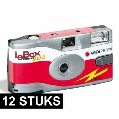 12x agfa lebox wegwerp cameras