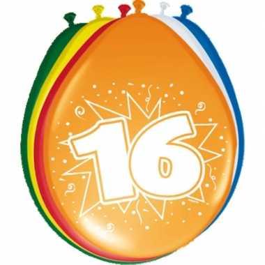 16 jarige ballonnen