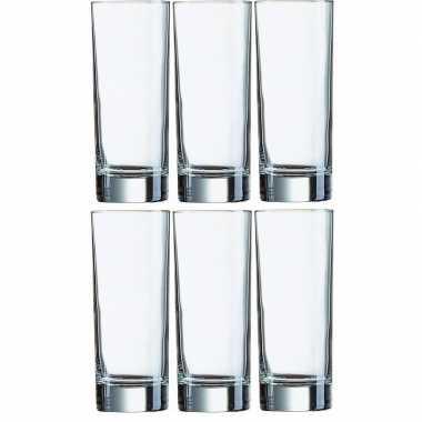 18x klassieke longdrink glazen 330ml