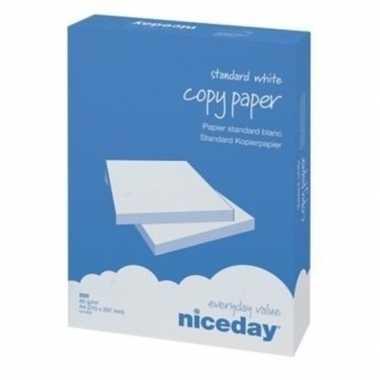 A4 wit kopieerpapier 1000 vellen 80 grams van niceday