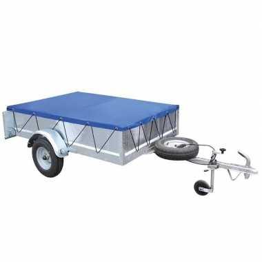 Aanhangwagen afdekzeil blauw 2 x 1 meter