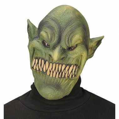 Aardmannen masker groen