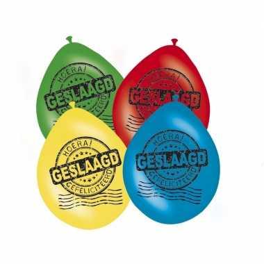 Afgestudeerd versiering ballonnen 16x