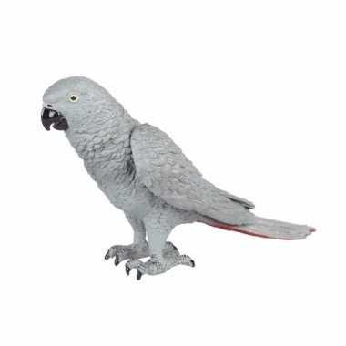 Afrikaanse grijze roodstaart papegaai 15cm