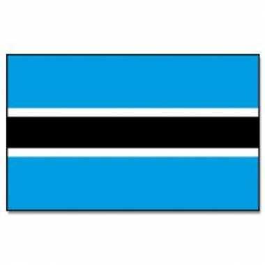 Afrikaanse vlag botswana