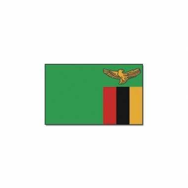 Afrikaanse zambiaanse vlag 90x150 cm