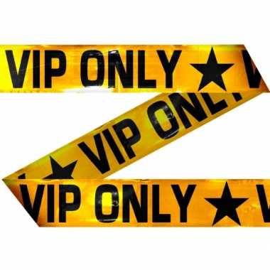Afzetlint vip only 15 meter