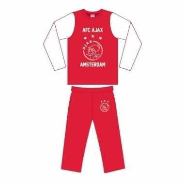 Ajax pyjama broek en shirt voor meisjes