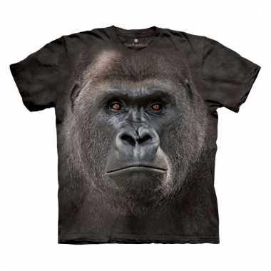 All-over print kids t-shirt gorilla