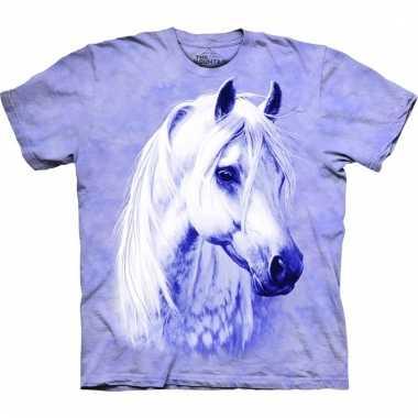 All-over print kids t-shirt met paard