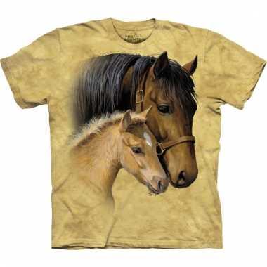 All-over print kids t-shirt met paarden