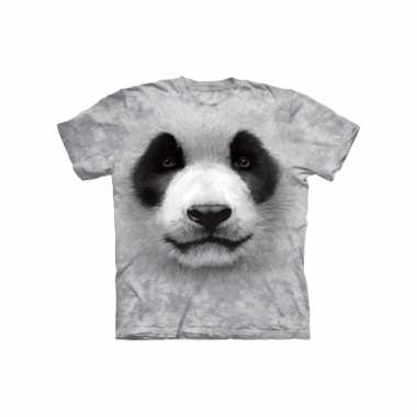 All-over print kids t-shirt met panda