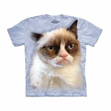 All-over print t-shirt grumpy cat