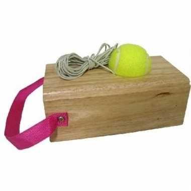 Alleen tennissen oefenblok voor kinderen