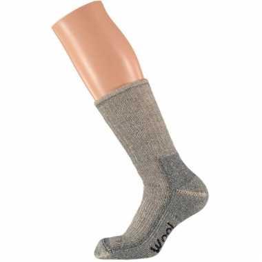 Allerwarmste sokken grijs maat 45-47