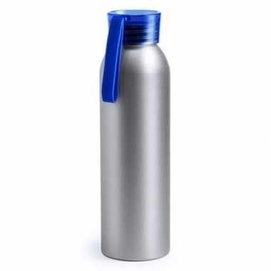 Aluminium bidon blauw 650 ml