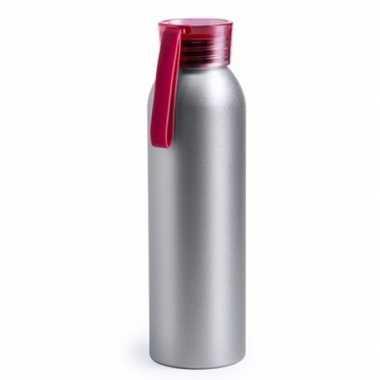 Aluminium bidon rood 650 ml