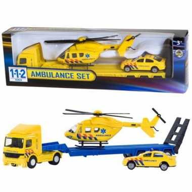 Ambulance speelgoed set