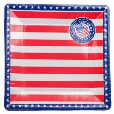 Amerikaanse borden 8 stuks
