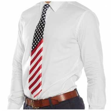 Amerikaanse verkleed stropdas