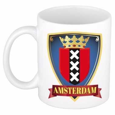 Amsterdam souvenirs mok / beker 300 ml