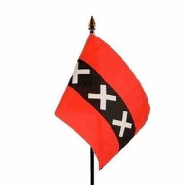 Amsterdam vlaggetje polyester