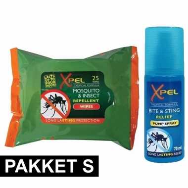 Anti-insecten pack small