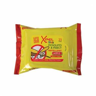 Anti-mug doekjes 25 stuks voor kinderen