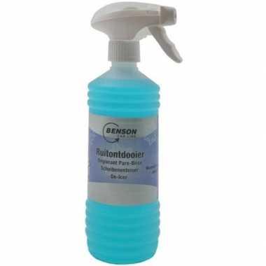 Anti vries voor autoruiten flacon / spray 1,5 liter