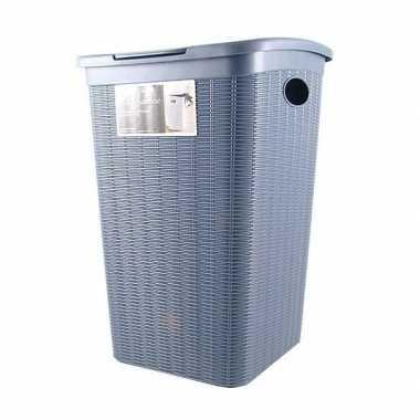 Antractiet kunststof wasmand 50 liter