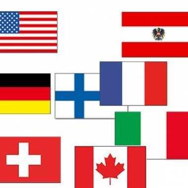 Apres ski versiering vlaggen