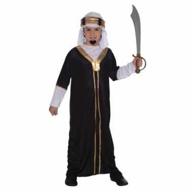 Arabieren sultan kostuum voor kinderen zwart