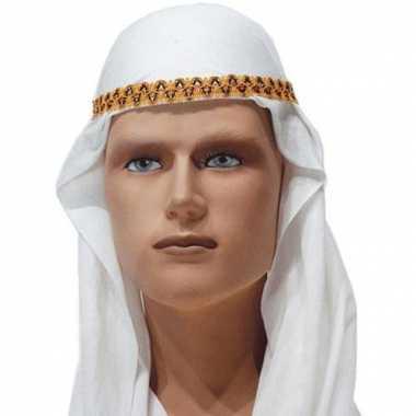 Arabische hoofddoeken wit